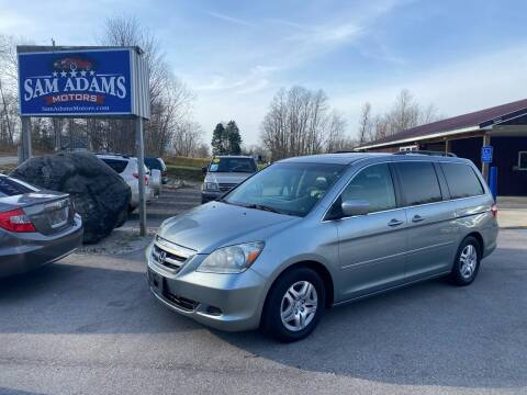 2007 Honda Odyssey for sale at Sam Adams Motors in Cedar Springs MI