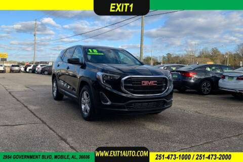 2018 GMC Terrain for sale at Exit 1 Auto in Mobile AL
