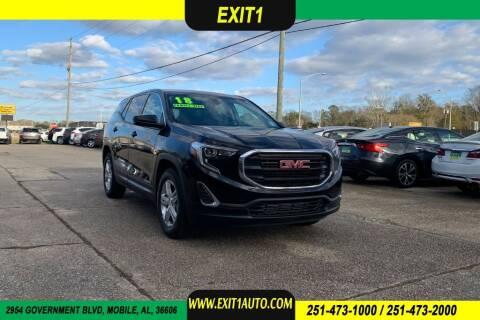 2018 GMC Terrain for sale at Exit 1 Auto in Mobile AL