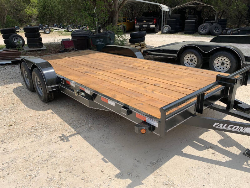 2021 FALCON 18' CAR HAULER  for sale at Trophy Trailers in New Braunfels TX