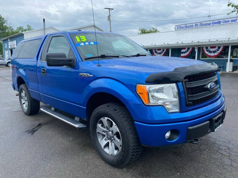 2013 Ford F-150 for sale at HACKETT & SONS LLC in Nelson PA