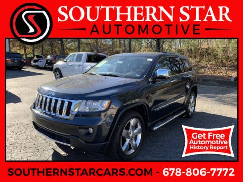 2013 Jeep Grand Cherokee for sale at Southern Star Automotive, Inc. in Duluth GA