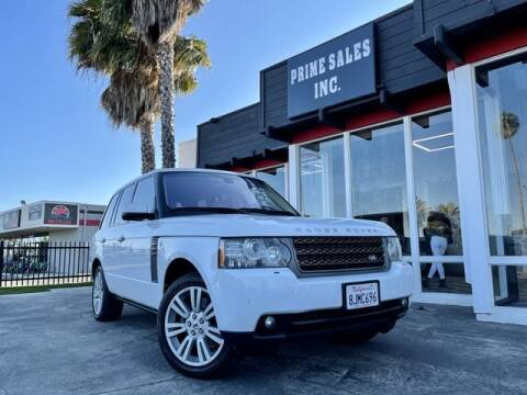 2011 Land Rover Range Rover for sale at Prime Sales in Huntington Beach CA