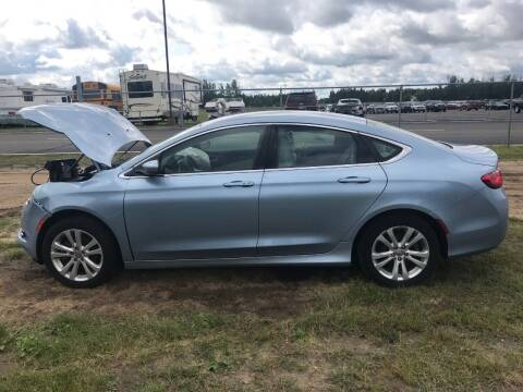 2015 Chrysler 200 for sale at Four Boys Motorsports in Wadena MN