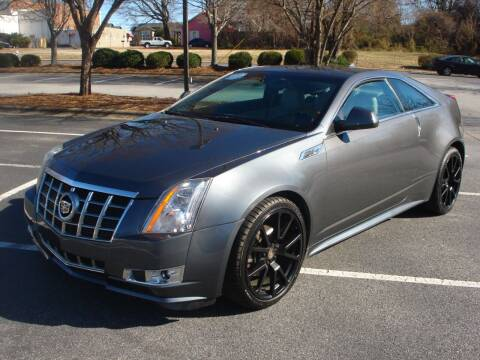 2013 Cadillac CTS for sale at Uniworld Auto Sales LLC. in Greensboro NC