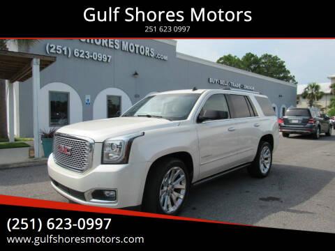 2015 GMC Yukon for sale at Gulf Shores Motors in Gulf Shores AL
