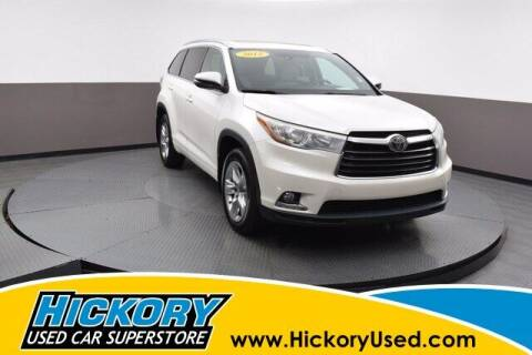 2015 Toyota Highlander for sale at Hickory Used Car Superstore in Hickory NC