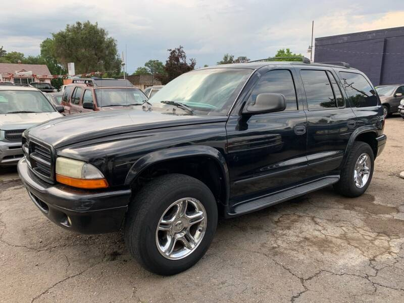 2002 Dodge Durango for sale at B Quality Auto Check in Englewood CO