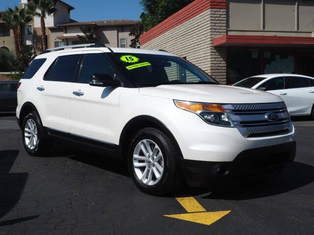 2015 Ford Explorer for sale at Corona Auto Wholesale in Corona CA