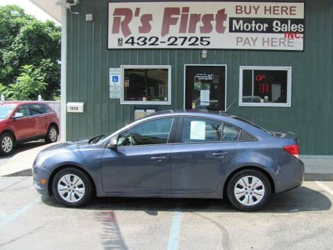2013 Chevrolet Cruze for sale at R's First Motor Sales Inc in Cambridge OH