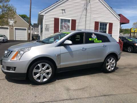 2014 Cadillac SRX for sale at Crown Auto Sales in Abington MA