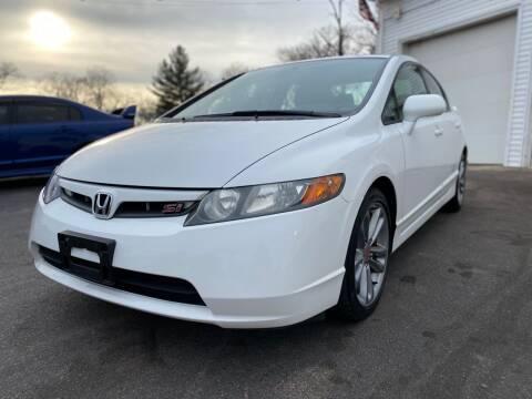2007 Honda Civic for sale at SOUTH SHORE AUTO GALLERY, INC. in Abington MA