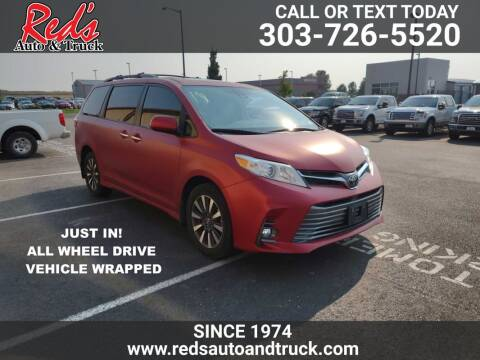 2019 Toyota Sienna for sale at Red's Auto and Truck in Longmont CO