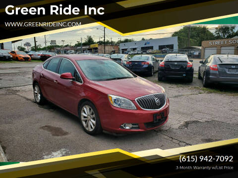 2013 Buick Verano for sale at Green Ride Inc in Nashville TN