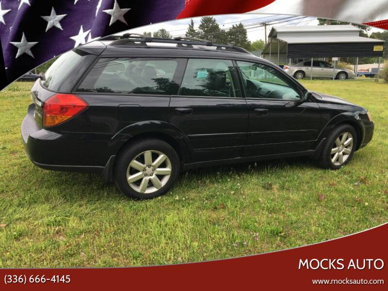 2007 Subaru Outback for sale at Mocks Auto in Kernersville NC