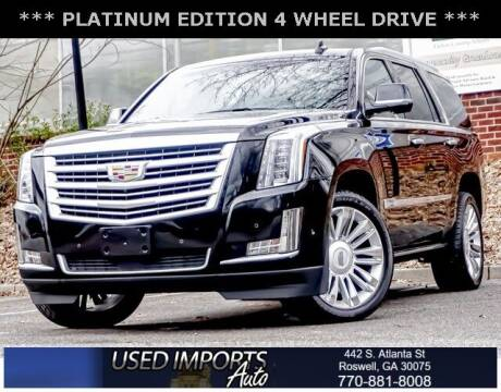 2017 Cadillac Escalade for sale at Used Imports Auto in Roswell GA