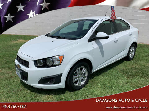2013 Chevrolet Sonic for sale at Dawsons Auto & Cycle in Glen Burnie MD
