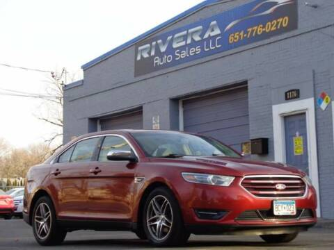 2014 Ford Taurus for sale at Rivera Auto Sales LLC in Saint Paul MN