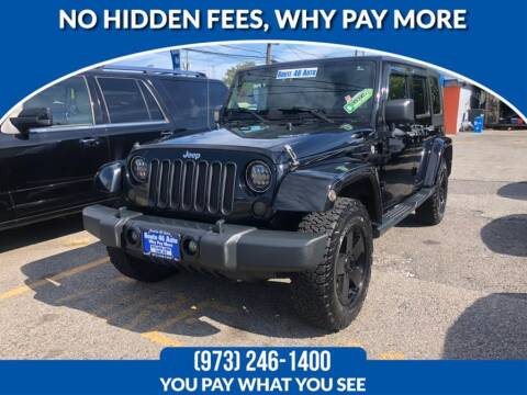 2010 Jeep Wrangler Unlimited for sale at Route 46 Auto Sales Inc in Lodi NJ