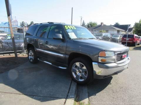 2002 GMC Yukon for sale at Car Link Auto Sales LLC in Marysville WA