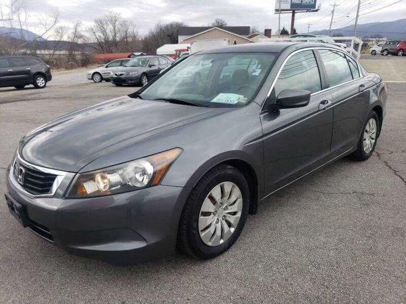 2008 Honda Accord for sale at Salem Auto Sales in Salem VA