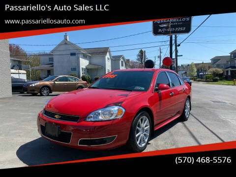 2011 Chevrolet Impala for sale at Passariello's Auto Sales LLC in Old Forge PA
