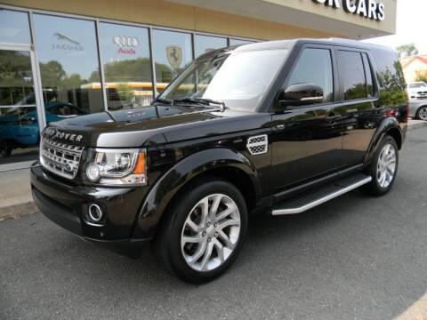 2016 Land Rover LR4 for sale at Platinum Motorcars in Warrenton VA