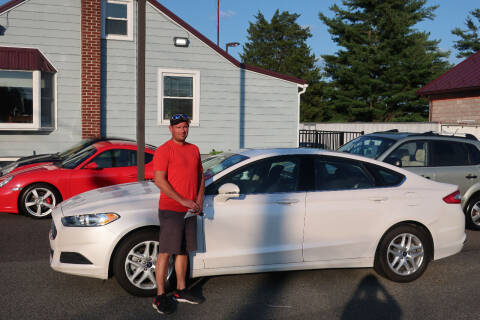2014 Ford Fusion for sale at GEG Automotive in Gilbertsville PA