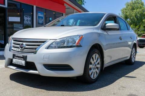 2013 Nissan Sentra for sale at Phantom Motors in Livermore CA
