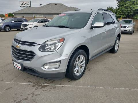 2016 Chevrolet Equinox for sale at Triangle Auto Sales 2 in Omaha NE