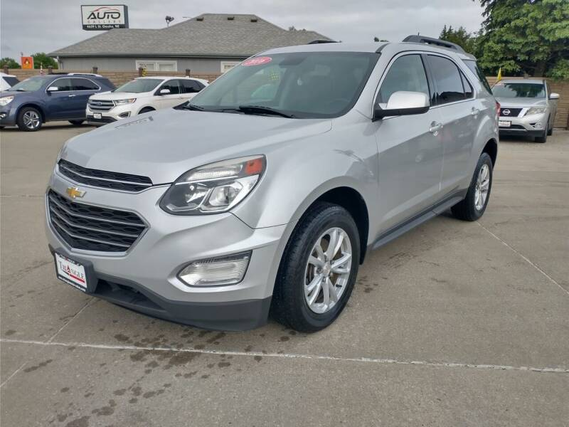 2016 Chevrolet Equinox for sale at Triangle Auto Sales in Omaha NE