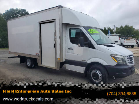 2016 Freightliner Sprinter Cab Chassis for sale at H & H Enterprise Auto Sales Inc in Charlotte NC