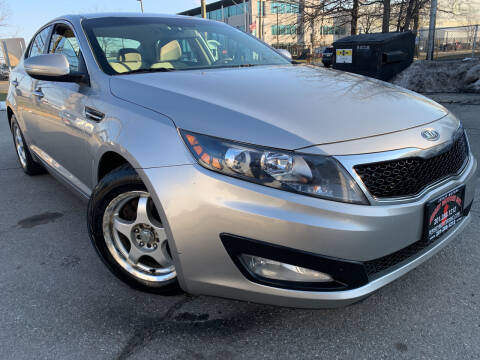 2012 Kia Optima for sale at JerseyMotorsInc.com in Teterboro NJ