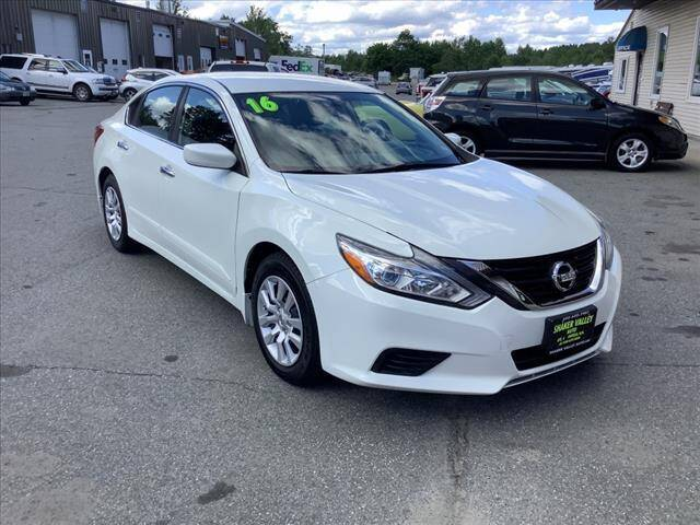 2016 Nissan Altima for sale at SHAKER VALLEY AUTO SALES in Enfield NH