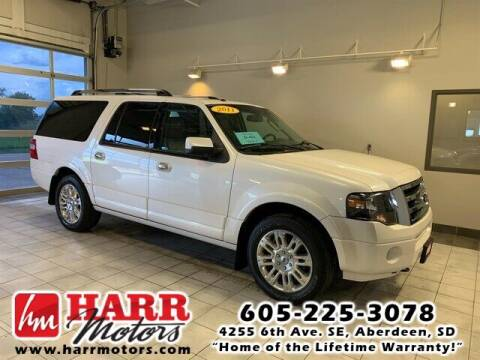 2011 Ford Expedition EL for sale at Harr Motors Bargain Center in Aberdeen SD
