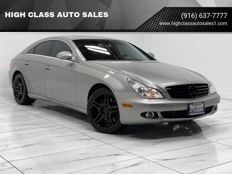 2007 Mercedes-Benz CLS for sale at HIGH CLASS AUTO SALES in Rancho Cordova CA