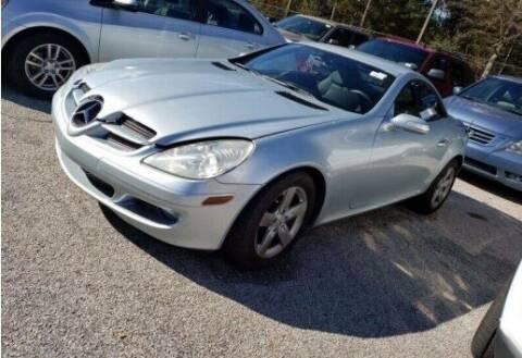 2007 Mercedes-Benz SLK for sale at JacksonvilleMotorMall.com in Jacksonville FL