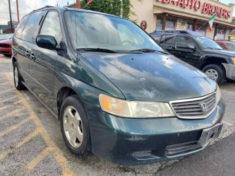 2000 Honda Odyssey for sale at USA Auto Brokers in Houston TX