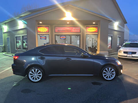2008 Lexus IS 250 for sale at Advantage Auto Sales in Garden City ID