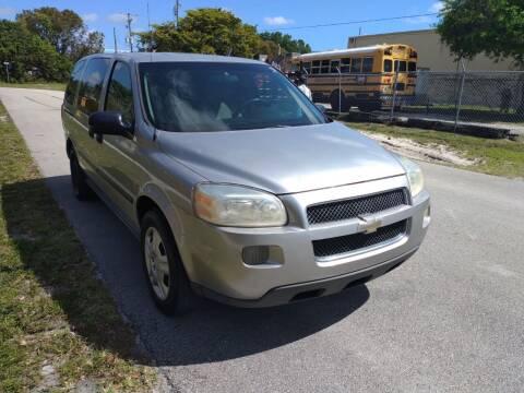 2006 Chevrolet Uplander for sale at LAND & SEA BROKERS INC in Deerfield FL