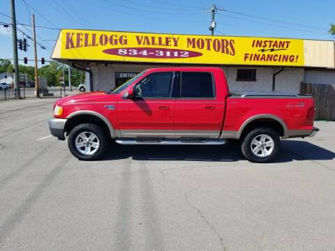 2003 Ford F-150 for sale at Kellogg Valley Motors in Gravel Ridge AR