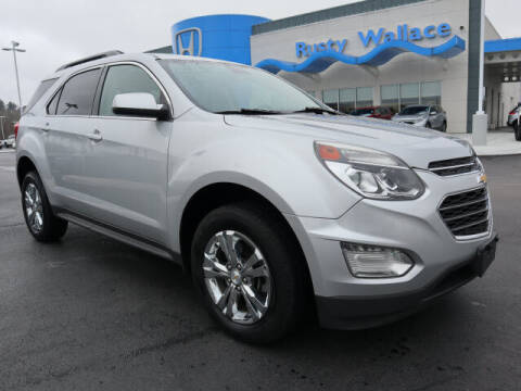 2016 Chevrolet Equinox for sale at RUSTY WALLACE HONDA in Knoxville TN