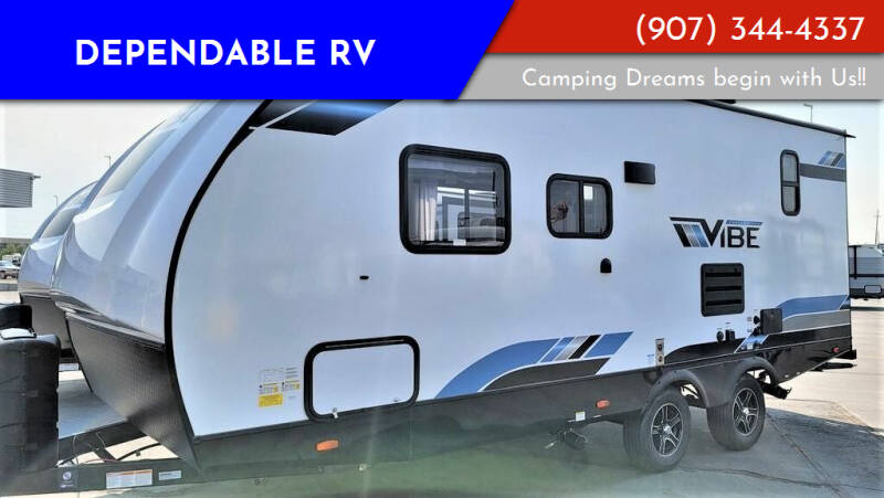 2021 Forest River Vibe for sale at Dependable RV in Anchorage AK