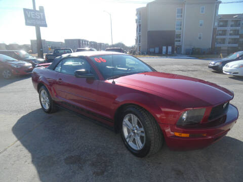 2006 Ford Mustang for sale at VEST AUTO SALES in Kansas City MO