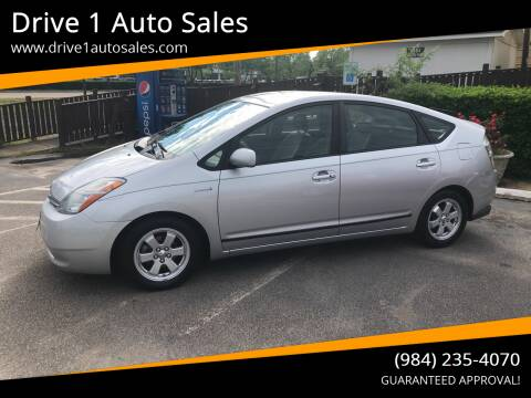 2007 Toyota Prius for sale at Drive 1 Auto Sales in Wake Forest NC