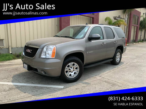 2008 GMC Yukon for sale at JJ's Auto Sales in Salinas CA