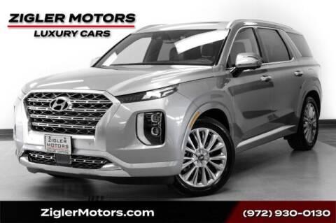 2020 Hyundai Palisade for sale at Zigler Motors in Addison TX