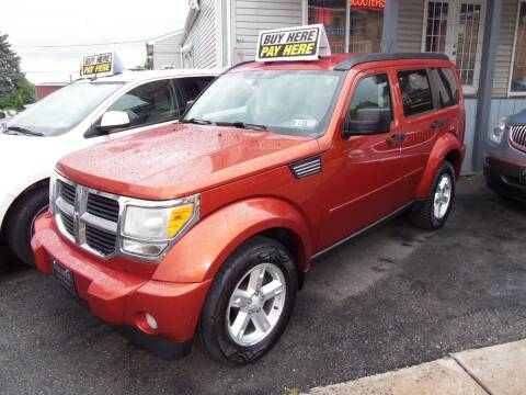 2008 Dodge Nitro for sale at Fulmer Auto Cycle Sales - Fulmer Auto Sales in Easton PA