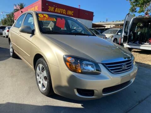 2006 Kia Spectra for sale at 3K Auto in Escondido CA
