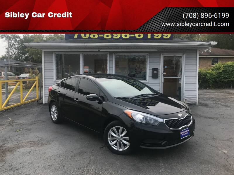 2014 Kia Forte for sale at Sibley Car Credit in Dolton IL
